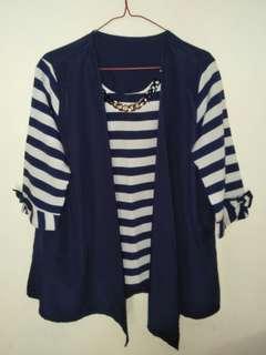 Blus Navy