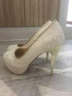 Wedding Glitter Heels