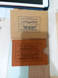 Levi card holder