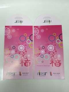 Angpao red money packet FIrst Subang Jaya mall