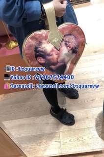 (最後1個) 購自英國 17春夏 Vivienne Westwood ARCHIVE HEART 小羊皮 手提袋 (保証正貨及全新) 大Size 冇肩帶只可手提