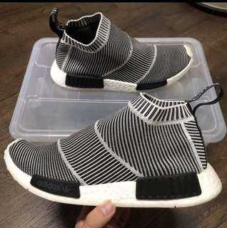 Price Firm / Non Nego : us9.5 Adidas NMD City Sock OG glow in the dark