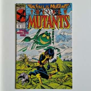 New Mutants No.60 comic