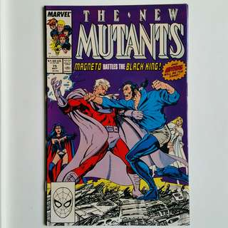 New Mutants No.75 comic