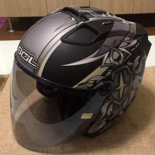 🚚 💯便宜出售 僅五個月💯SOL SL-27S 天狼星霧面黑3/4安全帽