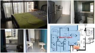 1 bedder for rent with kitchenette