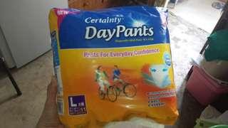Certainty Daypants adult diaper 一定妥 成人尿褲 disposable pants 尿片