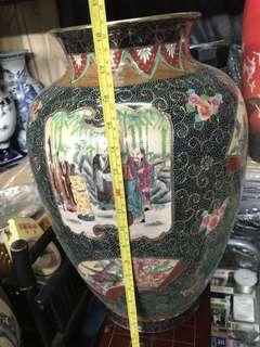 Japanese Vase hand painted porcelain