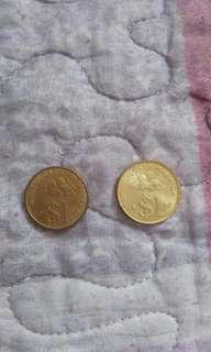 Duit Syiling Lama RM 1