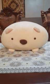 Miniso Marshmallow Bear Plush Stuffed Toy in Beige