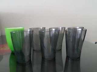 Plastics cup (total 7 pcs for $5.00)
