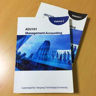 AD2101 Management Accounting