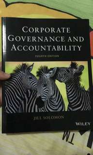 Corporate Governance and Accountability (Forth edition)