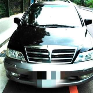 2004年三菱幸福力savrin七人座 汽車 休旅車