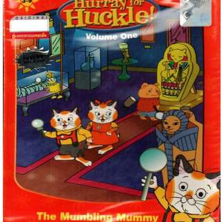 Richard Scarry's Hurray For Huckle! The Mumbling Mummy Vol.1 DVD