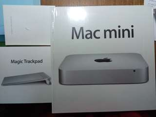 Mac Mini & Magic trackpad