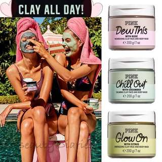 🚚 Victoria's Secret PINK Face & Body Clay Mask