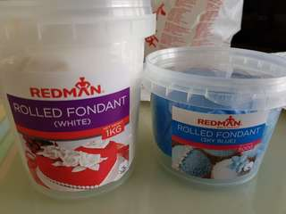 Fondant (satin ice and redman)