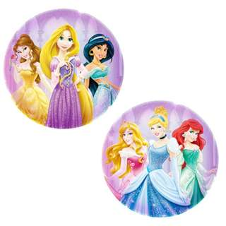 12 pcs DISNEY PRINCESS FOIL BALLOON