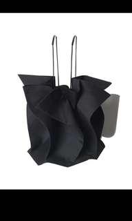 不規則荷葉水桶袋 bucket bag