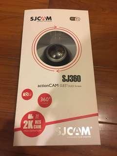 🚚 SJCAM 環景攝影機 SJ360 2K畫質 黑色