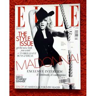 Madonna - Elle Cover Story (May 2008 Collectors Issue)
