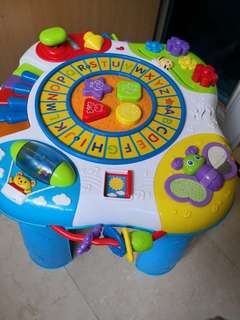 🚚 Fisher Price Activity Table