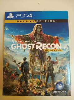 Tom Clancy's Ghost Recon  PS4