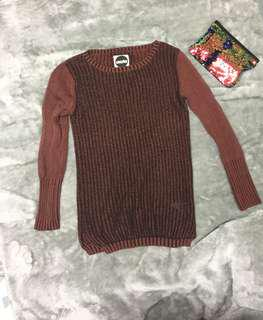 Brown Coocha Knitted Jumper