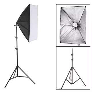 Photography Video Lighting Softbox Light kit 50*70cm with Stand