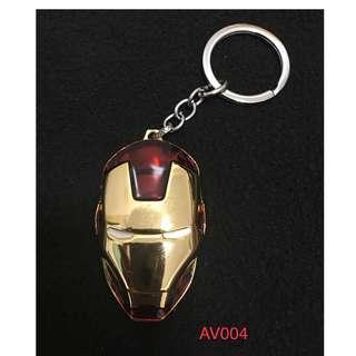 Iron Man Metal Keychain