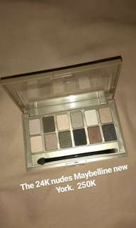 The nudes 24K Maybelline