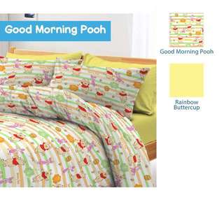 🚚 Winnie The Pooh Bedsheet