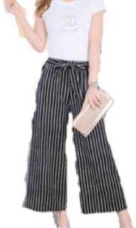 Striped Culottes BNWT