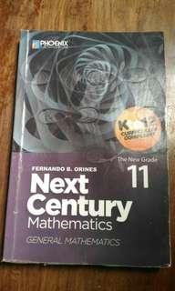 Next Century Mathematics for grade 11