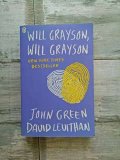 Wil Grayson, Will Grayson by John Green and David Levithan