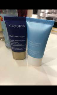 $40 for 2 clarins day and night cream