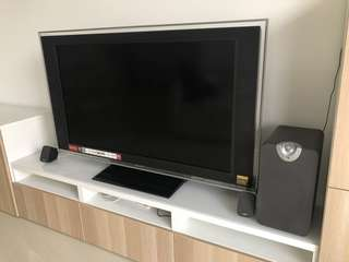 Sony 46 inch LCD TV for sale