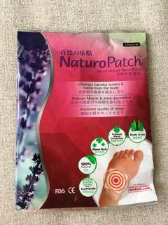 🚚 FREE with purchase NATUROPATCH detox foot patch