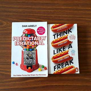 2 for $10: Predictably Irrational; Think Like A Freak
