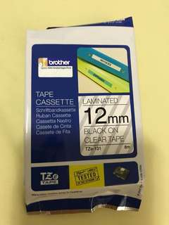 Brother Label printer tape refill