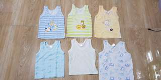 Preloved Baby tops 2 to 6 mos - 25 each