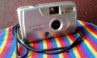 Classic olympus trip 500 compact camera