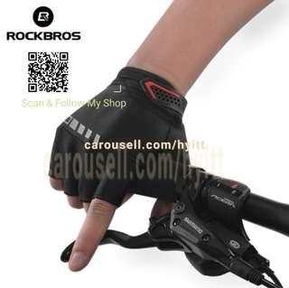 RockBros Half finger Gloves Cycling Gloves