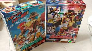 Bandai 手裏劍戰隊 DX 兩盒 可大合体 最新出價 450 500即決