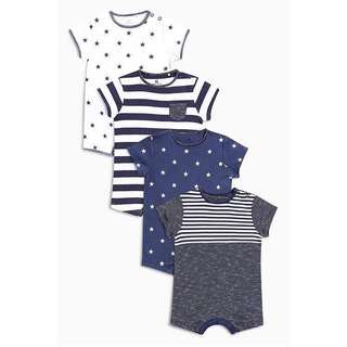 BNWT NEXT BABY BOY ROMPER