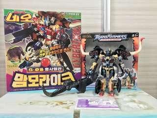 Transformers Takara Sonokong Big Convoy Optimus Prime and Hasbro Nemesis Prime