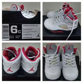 Preloved Jordan 5 Retro 6c