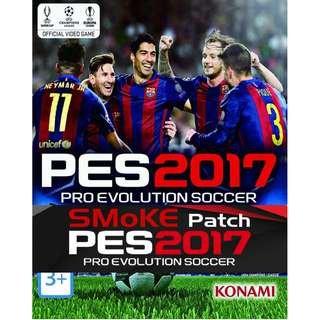 PES 2017 included in SMoKE Patch Offline with DVD (PC)