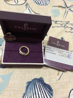 **SALE** ORIGINAL charriol two-toned ring